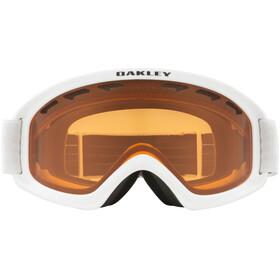 Oakley O Frame 2.0 Pro XS Schneebrille Kinder matte white/persimmon&dark grey
